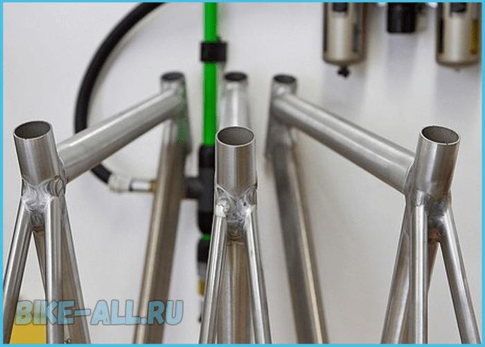 Стальные рамы для велосипеда